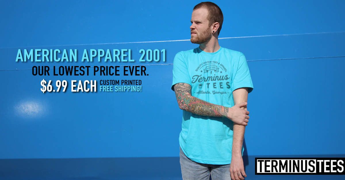 8ec6004a546 American Apparel is back! As one of our most popular brands over the past  10 years